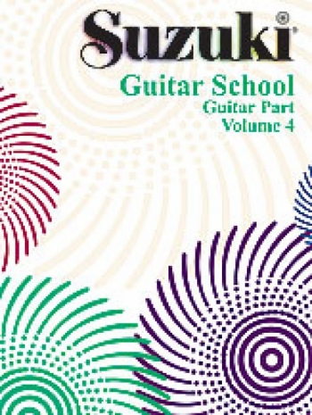 Suzuki Guitar School Vol 4 Guitar Part