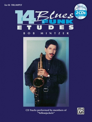 14 Funk and Blues Etudes: Trumpet: Book & CD