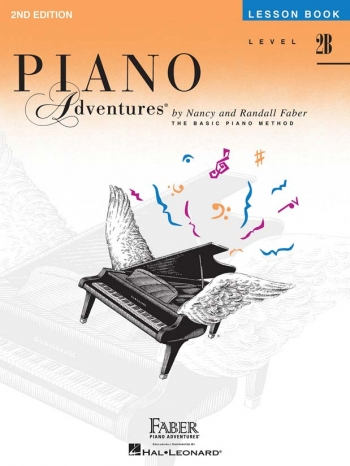 Piano Adventures: Lesson Book: Level 2B
