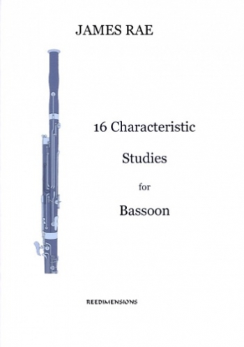 16 Characteristic Pieces: Bassoon & Piano (James Rae)