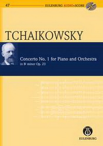 Piano Concerto: Op23: Bb Minor: Miniature Score  (Audio Series No 47)