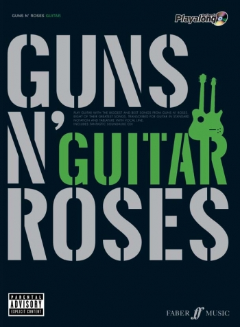 Guns N Roses: Authentic Playalong: Guitar Tab: Book & CD