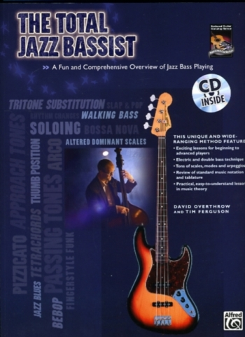 Total Jazz Bassist: Book & CD