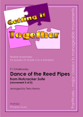 Ens: Git: Tchaikovsky: Dance Of The Reed Pipes From Nutcracker Suite: Ensemble: Scandpt