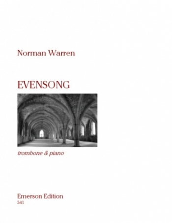 Evensong: Trombone Bc and Piano (Emerson)