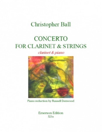 Clarinet Concerto For Clarinet and Strings (Emerson)