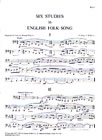 Six Studies In English Folk Song: Cor Anglais