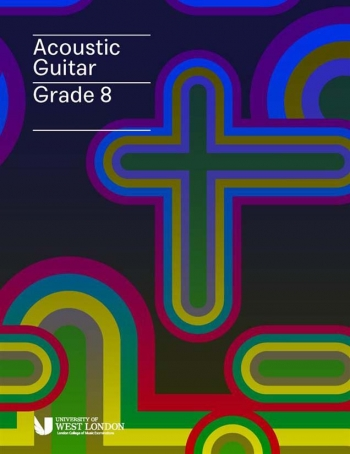 London College Of Music (LCM) Acoustic Guitar Handbook From 2020 Grade 8 (RGT)