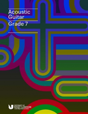 London College Of Music (LCM) Acoustic Guitar Handbook From 2020 Grade 7 (RGT)