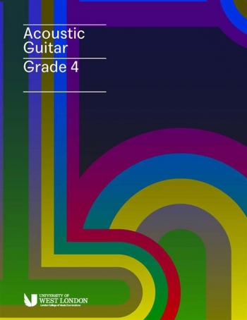 London College Of Music (LCM) Acoustic Guitar Handbook From 2020 Grade 4 (RGT)