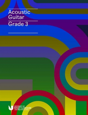 London College Of Music (LCM) Acoustic Guitar Handbook From 2020 Grade 3 (RGT)
