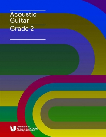 London College Of Music (LCM) Acoustic Guitar Handbook From 2020 Grade 2 (RGT)