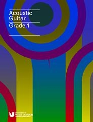 London College Of Music (LCM) Acoustic Guitar Handbook From 2020 Grade 1 (RGT)