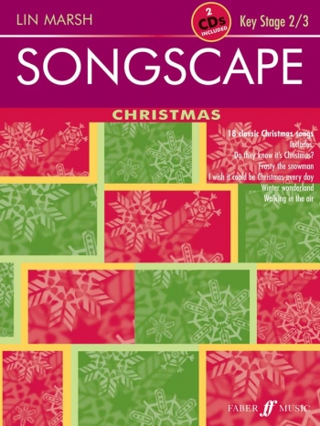 Songscape Christmas: Vocal: Ks2/3: Bookand2cds
