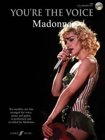 Youre The Voice: Madonna: Piano Vocal Guitar: Bk&cd