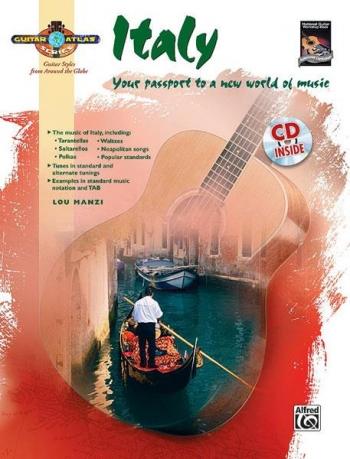 Guitar Atlas: Italy: Guitar: Book & CD
