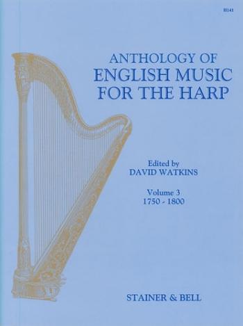 Anthology Of English Harp Music: Vol3: Harp