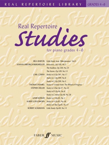 Real Repertoire Studies: Grade 4-6: Real Repertoire Library