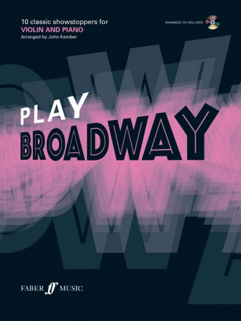 Play Broadway: 10 Classic Showstoppers: Violin: Book & CD