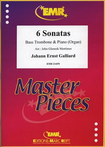 6 Sonatas: Bass Trombone and Piano