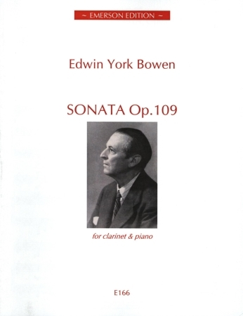 Clarinet Sonata: Clarinet & Piano (Emerson)