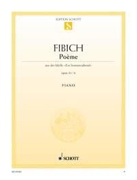 Poeme: Op.41 No.6: Piano (Schott Ed)