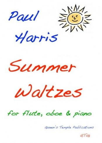 Harris: Summer Waltzes: Flute Oboe and Piano