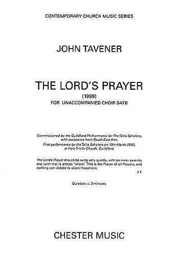 Lords Prayer (1999): Vocal: SATB
