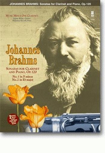 Clarinet Sonatas Op.120 1 & 2: Clarinet & Piano: Book & CD (MMO)