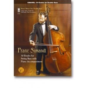 30 Etudes (Studies): Double Bass