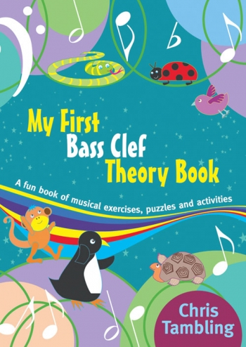 My First Bass Clef Theory Book: Theory