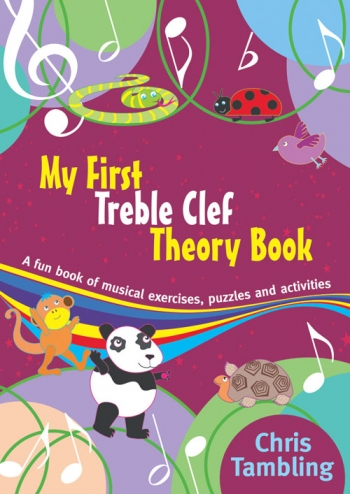 My First Treble Clef Theory Book: Theory