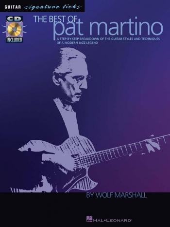 Signature Licks: Pat Martino: Guitar: Book & Cd