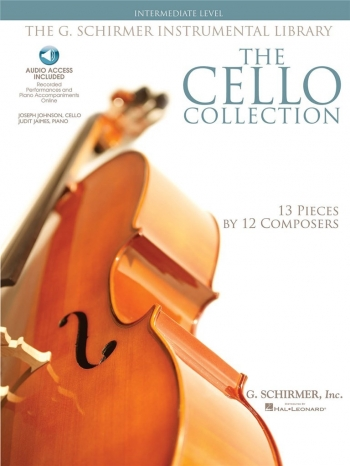 Cello Collection: 13 Pieces: Intermediate Level: Cello: Book & CD