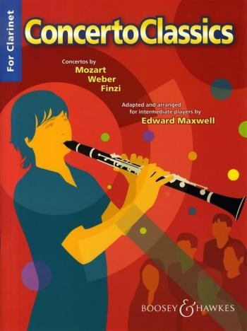 Concerto Classics: Clarinet & Piano: Concertos By Various Composers: Intermediate