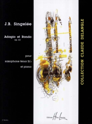 Adagio Et Rondo Op. 63: Tenor Saxophone And Piano