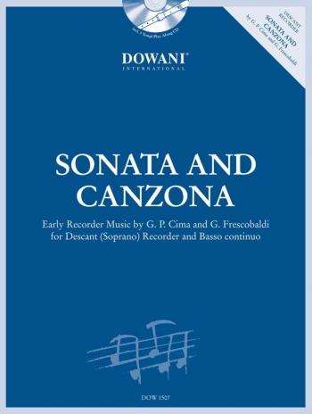 Sonata and Canzona: Early Music By Cima & Frescobaldi: Descant Recorder & Piano