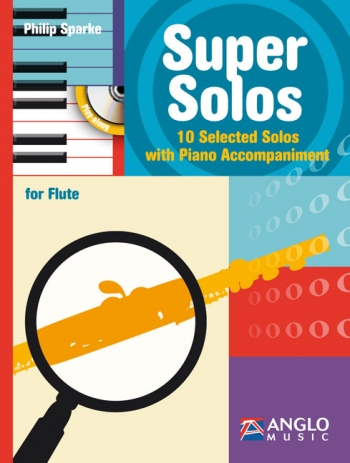 Super Solos: 10 Selected Solos: Flute & Pano (Sparke)