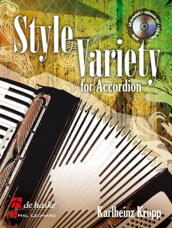 Style Variety For Accordion: Book & CD