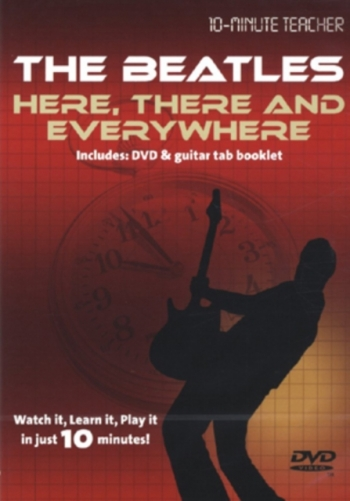10 Minute Teacher: The Beatles: Here There And Everywhere: Watch It Learn  It : Dvd: Guitar