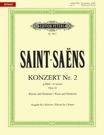 Concerto In G Minor No 2: Op.22: Piano  (Peters)