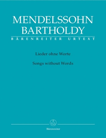 Songs Without Words: Piano (Barenreiter)