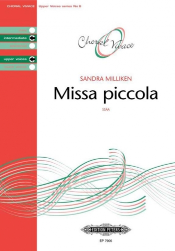 Missa Piccola: Ssaa And Piano: Intermediate Upper Voices (Choral Vivace)