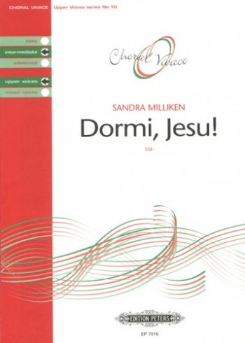 Dormi Jesu: Ssa And Piano: Intermediate Upper Voices (Choral Vivace)