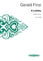 Lullaby: Satb: Vocal Score (Peters)