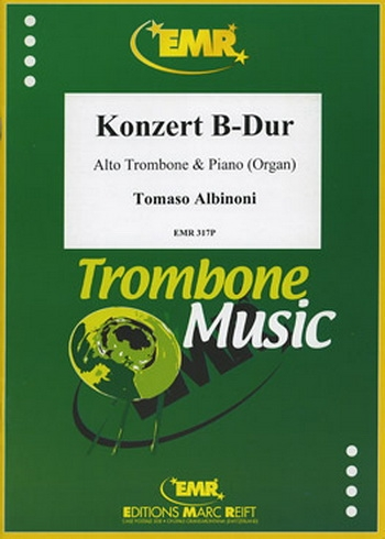 Trombone Concerto B Major: Trombone and Piano