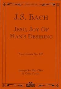 Jesu Joy Of Mans Desiring: Flute Trio