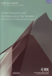 London College Of Music: Chord Sequence And Accompanying Test Samples