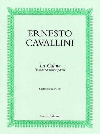 Romanza Senza Parole: Clarinet & Piano (Lazarus)