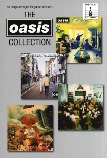 Oasis: The Collection: 48 Songs (A5 Size): Guitar